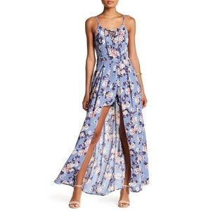 Romeo and Juliet Couture Floral Maxi dress